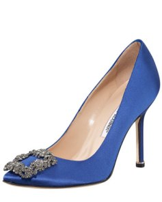 Something Blue Manolo Blahnik's Photo Credit